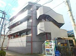 東京都日野市三沢4丁目の賃貸マンションの外観