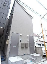 東京都墨田区千歳3丁目の賃貸アパートの外観