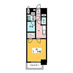 モン ヨイーエ[8階]の間取り