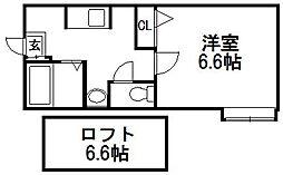 シティコーポ[2階]の間取り