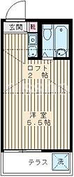 809−ジュアン鷺宮[1階]の間取り