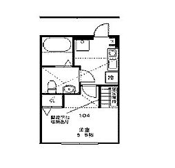 Steer Odasaga[1階]の間取り