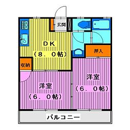 スズカンマンション[3階]の間取り