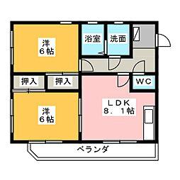 High Mansion MITSUYO I[3階]の間取り
