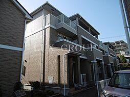 東京都青梅市大柳町の賃貸アパートの外観