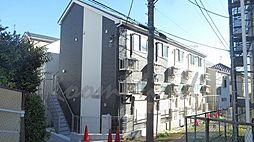 神奈川県横浜市神奈川区大口通の賃貸アパートの外観