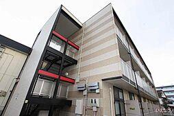 広島県福山市奈良津町3丁目の賃貸アパートの外観