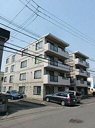 北海道札幌市西区八軒九条西2丁目の賃貸マンションの外観