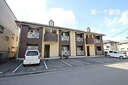 兵庫県西脇市郷瀬町の賃貸アパートの外観