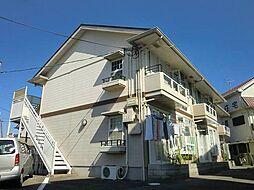 兵庫県三田市対中町の賃貸アパートの外観