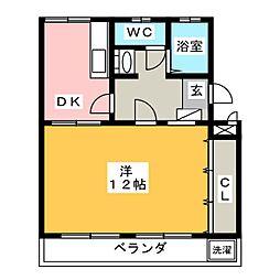 メゾン健和[2階]の間取り