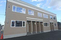 北海道札幌市北区屯田五条1丁目の賃貸アパートの外観