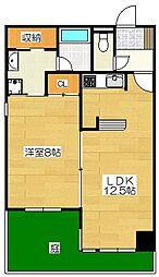 サンシティ博多FLEX21[1階]の間取り