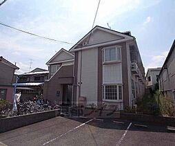 京都府京都市右京区西京極東衣手町の賃貸アパートの外観