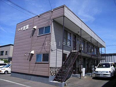 外観,2DK,面積39.6m2,賃料3.6万円,バス 中央バス新琴似6条16丁目下車 徒歩1分,,北海道札幌市北区新琴似五条16丁目