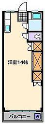 綾瀬パークハイツ[4階]の間取り