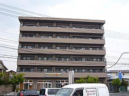 岡山県岡山市北区高柳東町の賃貸マンションの外観