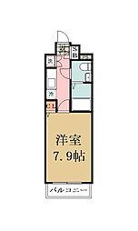 埼玉県草加市瀬崎3丁目の賃貸マンションの間取り
