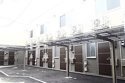 広島県広島市南区西本浦町の賃貸アパートの外観