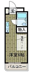 神奈川県川崎市麻生区王禅寺西4丁目の賃貸マンションの間取り