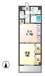 センチュリーパーク新川一番館[8階]の間取り