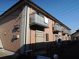 栃木県宇都宮市東簗瀬1丁目の賃貸アパートの外観