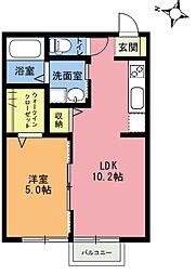 ラミエ III[2階]の間取り