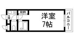 プレアール香里園駅前[0201号室]の間取り