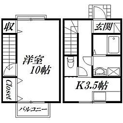 [一戸建] 静岡県浜松市北区初生町 の賃貸【/】の間取り