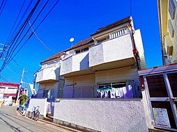 埼玉県新座市野寺1丁目の賃貸アパートの外観