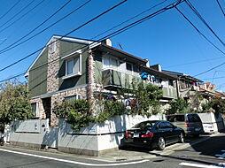 東京都練馬区東大泉3の賃貸アパートの外観