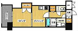 サンネストピア箱崎駅前[9階]の間取り
