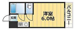 ルネッサンス32番館[2階]の間取り