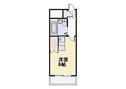 煉瓦館3[102号室]の間取り
