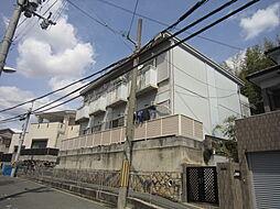 大阪府高槻市天神町2丁目の賃貸アパートの外観