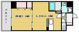 メゾン・フロールIMAKUBO[5階]の間取り