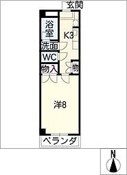 M・ディライト[2階]の間取り