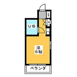 K Stage Hara[2階]の間取り