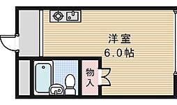 スタジオ32[4階]の間取り
