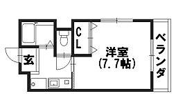 ベルコート94[402号室]の間取り