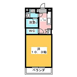 ウィステリア[3階]の間取り