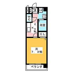 NEW PLACE[5階]の間取り