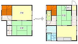 [テラスハウス] 神奈川県茅ヶ崎市小和田1丁目 の賃貸【/】の間取り
