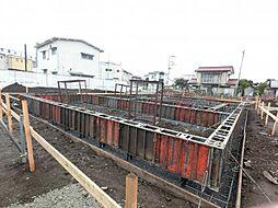 群馬県高崎市上中居町の賃貸アパートの外観