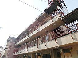大阪府大阪市東住吉区南田辺2丁目の賃貸マンションの外観
