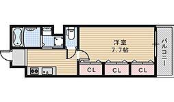 FuMoSe西田辺[305号室]の間取り