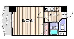 ラフィネ美野島[3階]の間取り