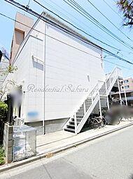 神奈川県藤沢市鵠沼橘1丁目の賃貸アパートの外観