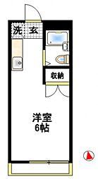 エイトハウス伊藤[201号室号室]の間取り
