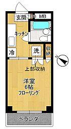 新多摩川ガーデンハイツ[2階]の間取り